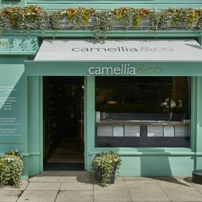 Camellia Rock Showroom Exterior