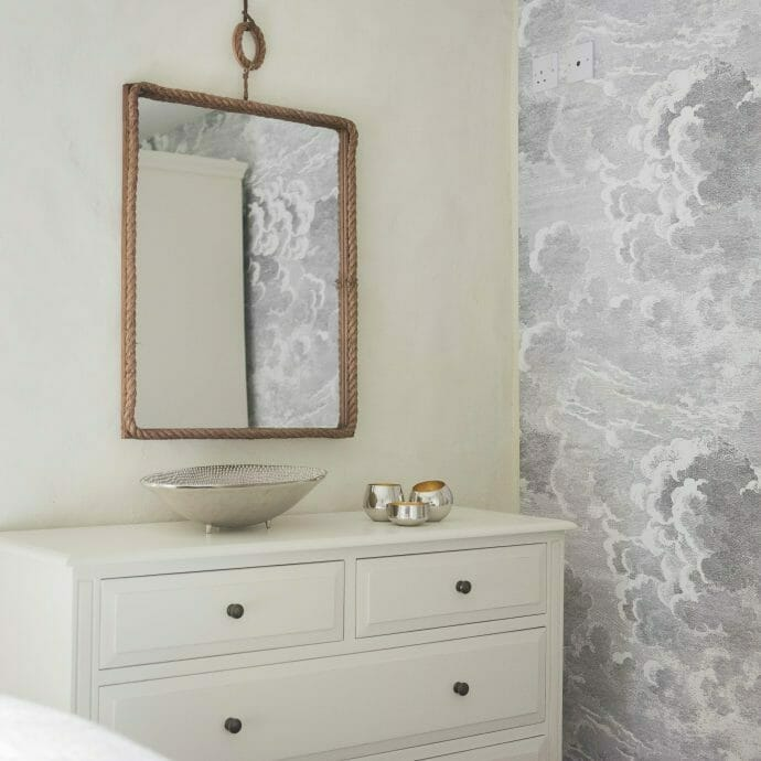 Sennen Farmhouse Cream Guest Bedroom Camellia Interiors