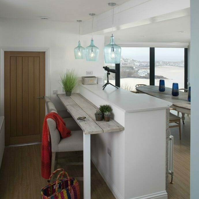 ScottsCraig holiday home St Ives interiors for camellia Interior Design Co
